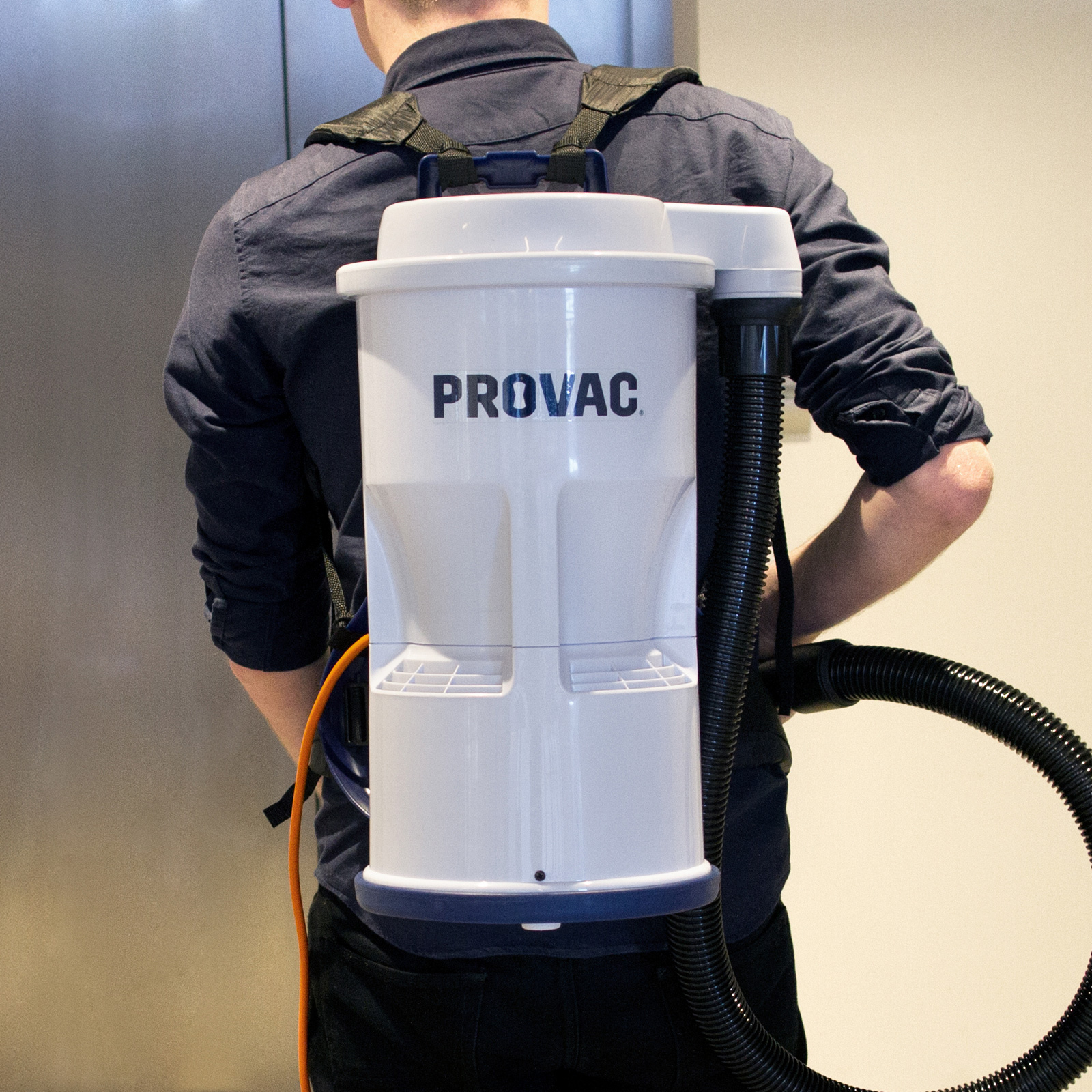 Provac Features - Lightweight Backpack Vacuum Cleaner